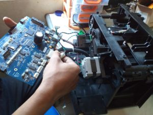 Service Mainboard printer kartu Fargo