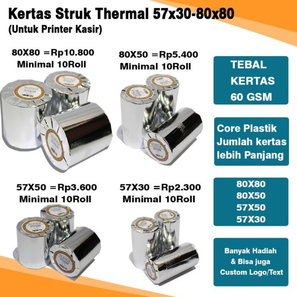 KERTAS STRUK THERMAL