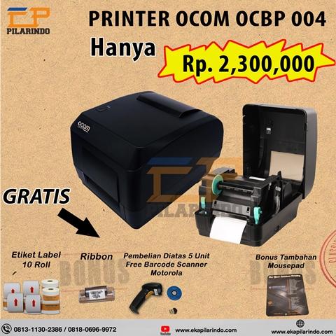 printer barcode label OCOM OCBP 004